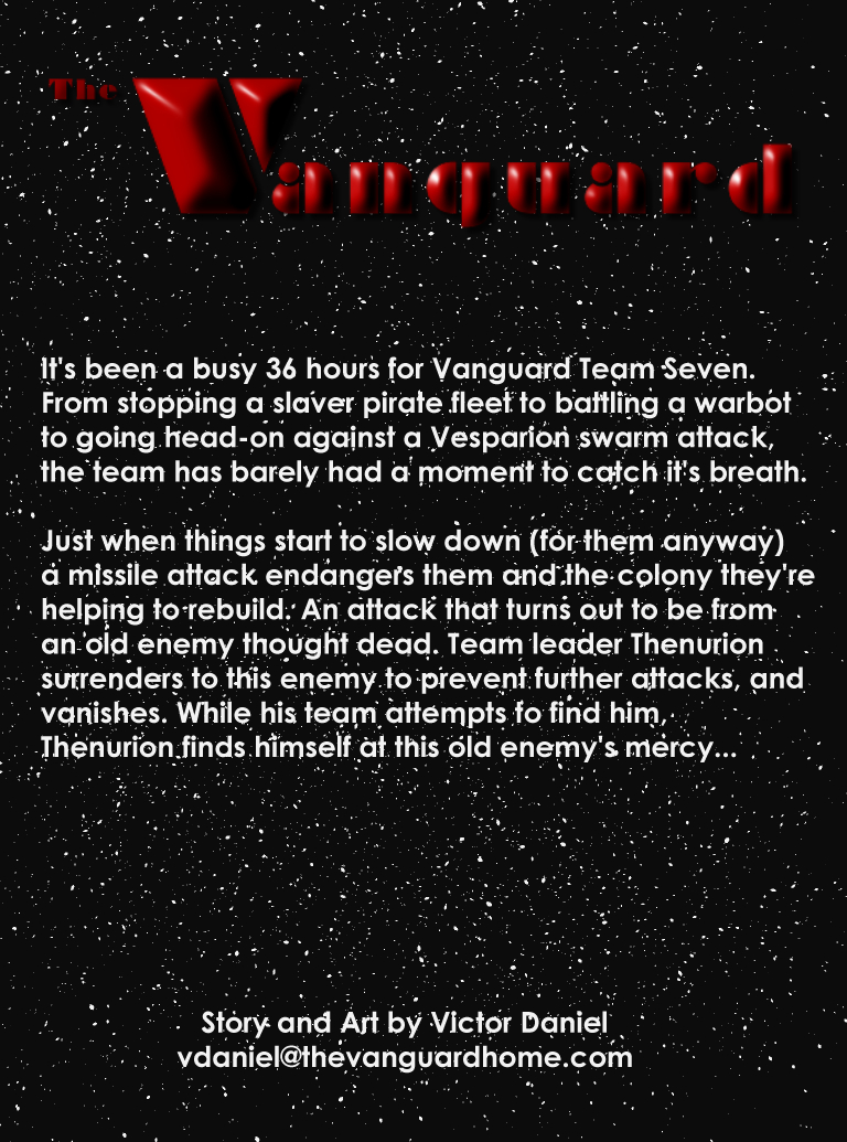 The Vanguard Issue 7 Inside Cover